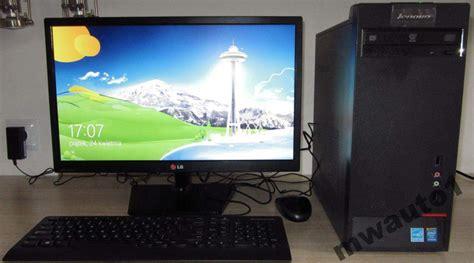 Monitor Komputer Lenovo komputer lenovo m4350 ibm monitor lg wyprzeda蟒 zdj苹cie na imged