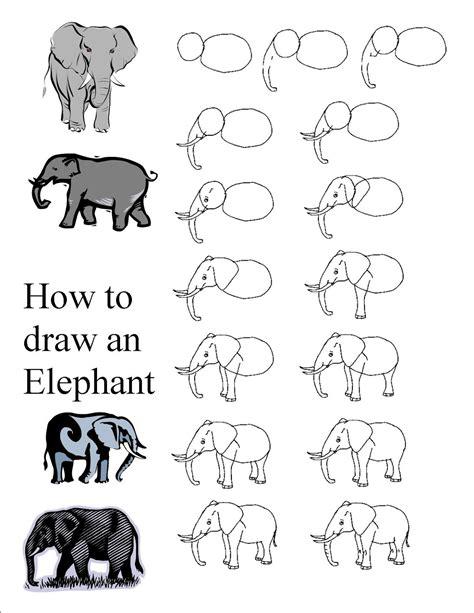 how to draw a doodle elephant elephant drawings artwork elephants