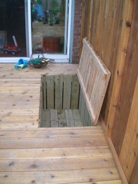 trap deck 25 best ideas about deck storage on pool deck