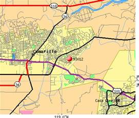 where is camarillo california on a map 93012 zip code camarillo california profile homes