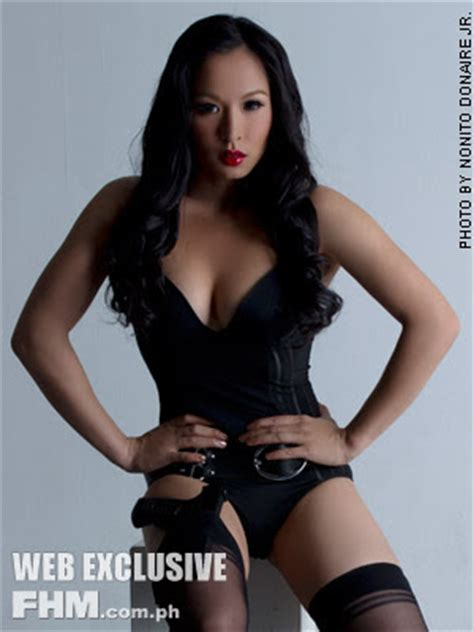 sexy sultry rachel donaire on fhm; boxing champ nonito
