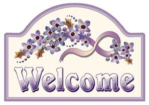 artbyjean purple wood roses make your own welcome sign