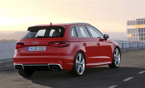 Audi Rs 3 Sportback by 2015 Audi Rs 3 Sportback Revealed U S Launch Still Pending