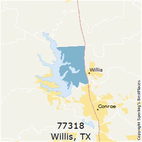 map of willis texas best places to live in willis zip 77318 texas