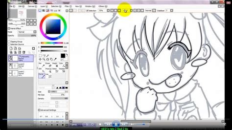 paint tool sai jak pobrać easy tutoriel paint tool sai colorisation