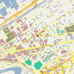 map of downtown cleveland citylondonhotel