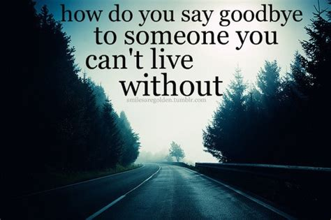 Is It When You Cant Say Goodbye by Goodbye Quotes Sayings Images Page 47