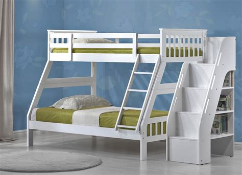 white bunk beds twin over full separating bunk beds twin over full wood mygreenatl bunk beds