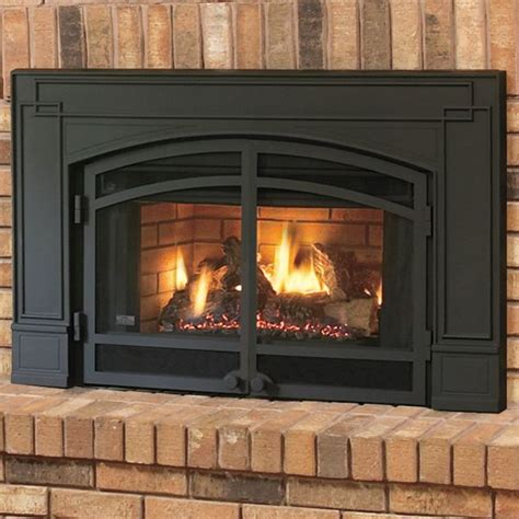 Fireplace Inserts Wood With Blower by Continental Cbi360 Gas Fireplace Vent Insert W