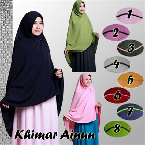 Jilbab Khimar Syar I Farida 8 jilbab instan khimar ainun syar i model terbaru bundaku net