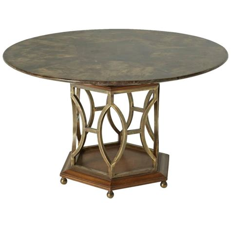 lacquered dining tables lacquered goatskin dining table or table for sale at