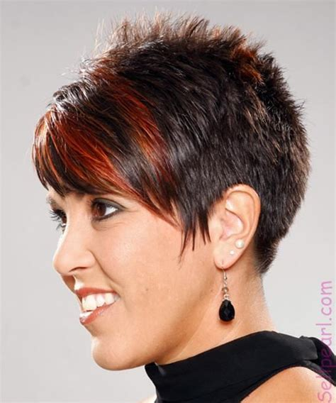 spikey hairstyles for women over 45 with fat face short spiky hairstyle 2015 best hair styles hairstyles