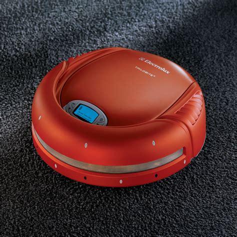 Trilobite Robotic Vacuum by The Electrolux Trilobite Robotic Vacuum Hammacher Schlemmer