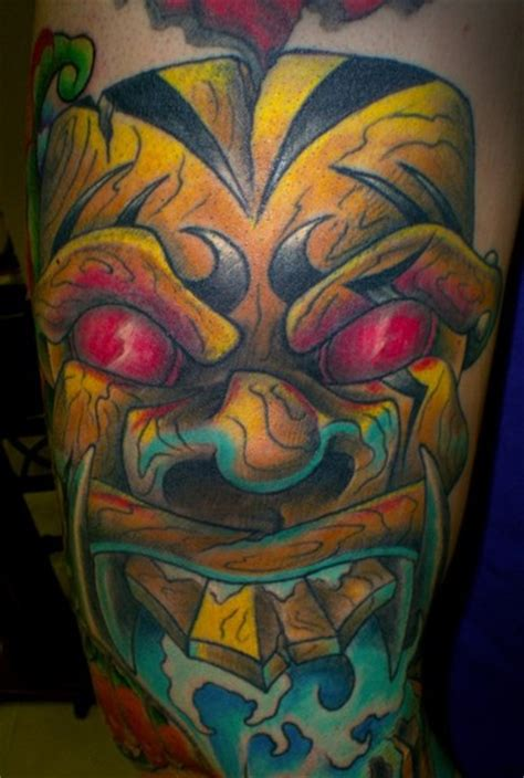 tattoo remov the gallery for gt hawaiian tiki god tattoos