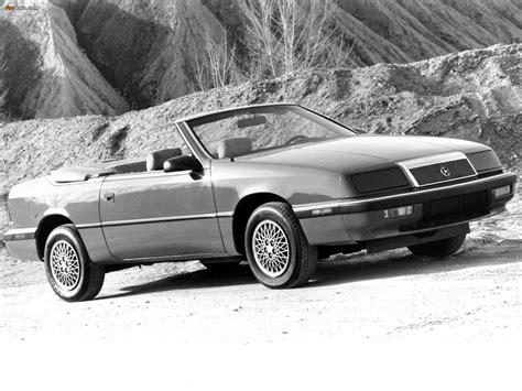1998 chrysler lebaron 1987 chrysler le baron convertible related infomation