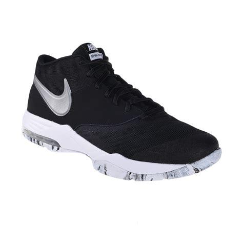 Sepatu Basket Nike Air Max jual nike air max emergent black white sepatu basket