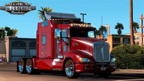 kenwood t660 ats mods kenworth t660 truck simulator