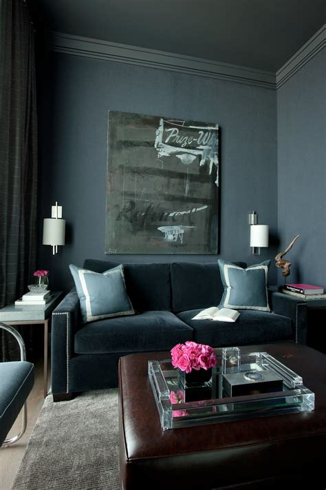 dark walls which type of velvet sofa should you buy for your home