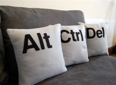 ctrl alt delete pillows ctrl alt cushions reboot your living room style