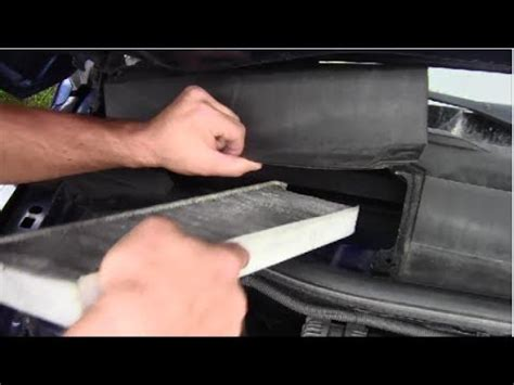 how to replace cabin air filter on 2008 chevy equinox