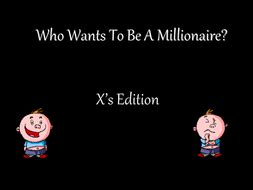 who wants to be a millionaire blank template powerpoint who wants to be a millionaire by amyhorridge teaching