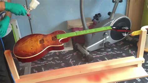 Lackierte Gitarre Polieren by Lp Projekt Part 9 Lackieren Youtube