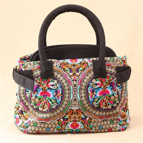 Minority Bags From by 2015 China Ethnic Style Copper Embroidery Handbag Yunnan