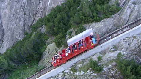 ferrovia a cremagliera ferrovia a cremagliera catena montuosa svizzera rm