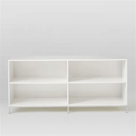elm white bookcase lacquer storage bookcase elm