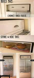 How To Build A Refrigerator Cabinet Remodelaholic Build A Cabinet The Fridge