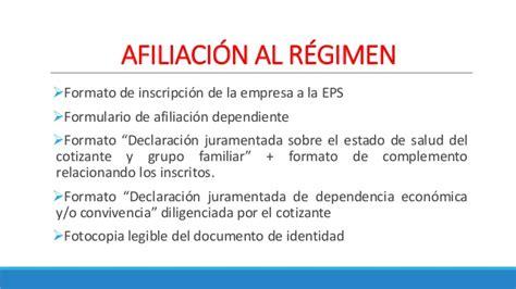 declaracion juramentada de afiliacion a salud declaracion juramentada de afiliacion a salud