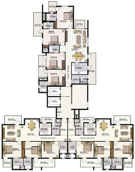 terminal 5 floor plan anant raj madelia manesar gurgaon residential project propertywala