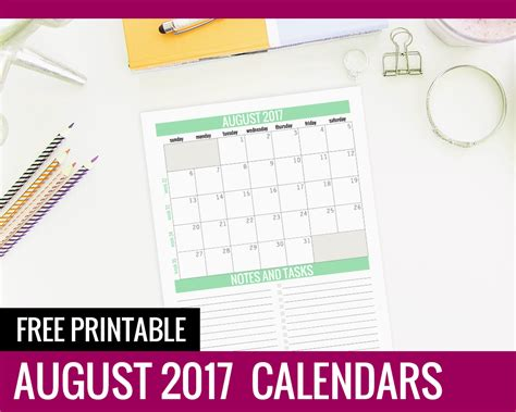 printable calendar paper free printable calendars august 2017 paper and landscapes