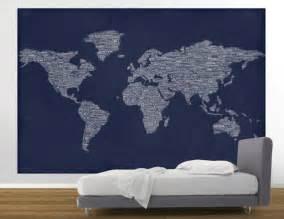 map of the world wall mural easy stick wallpaper 2017 2018 best cars reviews