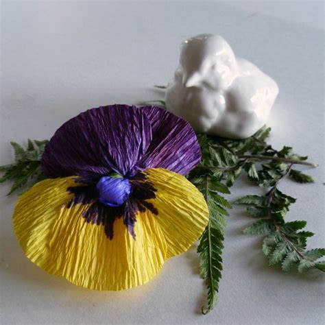 crepe paper flower pattern pinterest