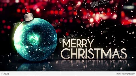 blue silver merry christmas bokeh beautiful  red stock animation