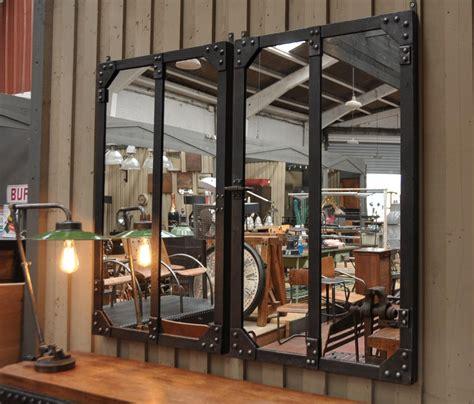 Miroir Style Industriel by Miroir Style Industriel 13 L Ombre D Acier Petit Loft