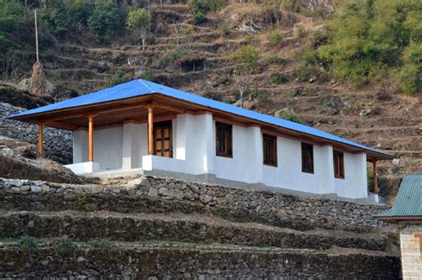 design your own earthbag home finished earthbag school in nepal natural building blog