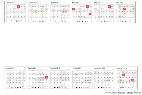 Calendario Kit 2015 Calend 225 2015 Archives Fazendo A Minha Festa