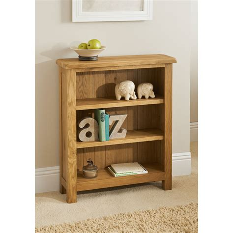 Small Office Bookcase Oak Vaneer Wooden Sturdy Wiltshire Small Bookcase Home