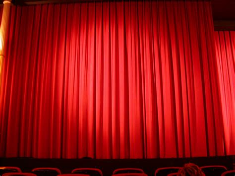 red curtain theatre image after photo fabrics cloth theater theatre red