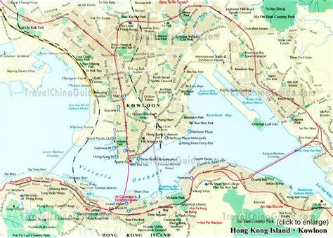 hong kong map hong kong downtown map downtown hong kong map china