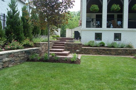 retaining wall flower bed plantings and flower beds archives tinkerturf