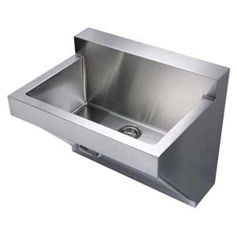 stainless steel wall mount commercial sink whitehaus collection noah s collection wall mount brushed