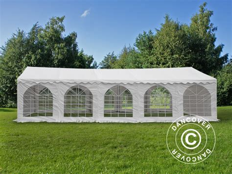 dancover gazebo dancover marquee exclusive 6x10m pvc gazebo canopy