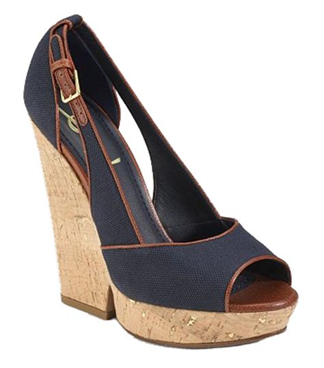 Steep Vs Cheap Canvas Wedge Sandals by S Shoe For Cheap Shoes To Inspired
