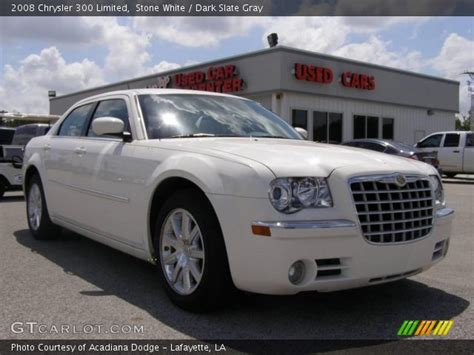 2008 Chrysler 300 Limited by White 2008 Chrysler 300 Limited Slate Gray