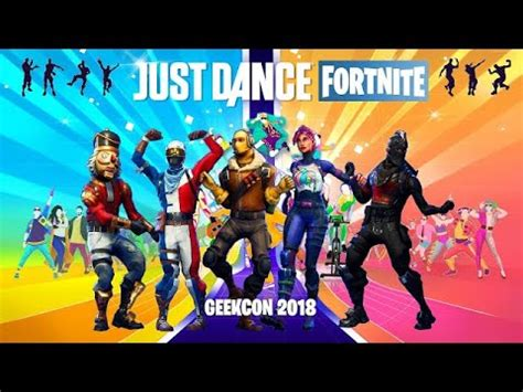 just dance | fortnite edition hack (geekcon 2018