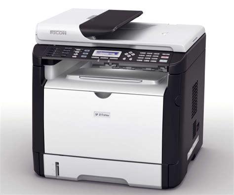 Printer Laser Black And White ricoh sp 311 dnw black and white laser printer copierguide