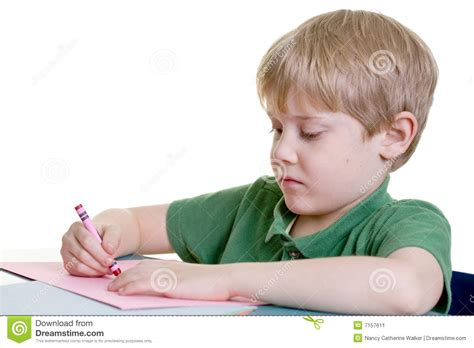 child color a child coloring stock image image 7157611